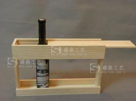 六瓶装木盒500ML木盒木架小瓶酒盒曹县盛鼎工艺品有限公司