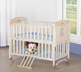 MC369Y无漆实木儿童床