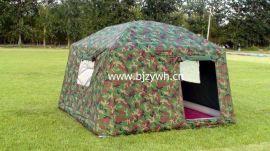 6平户外野营军用充气帐篷(ZY-06)
