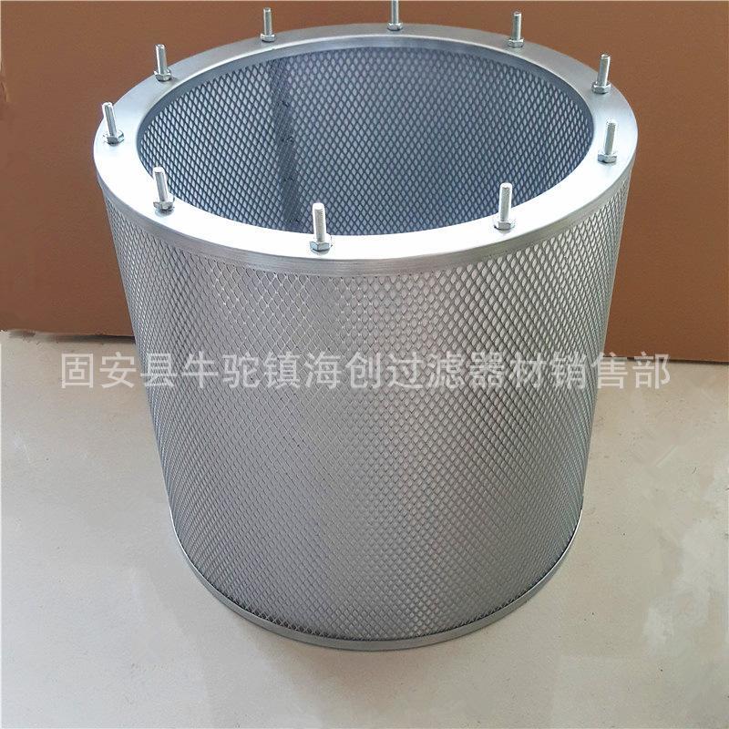 厂家直销 供应304 316L引风机除尘滤筒  加工定制不锈钢除尘滤筒