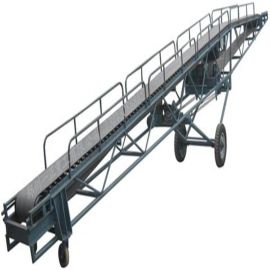 沙土装车大倾角皮带机 收粮食用皮带输送机qc