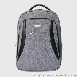 定做梦幻苹果商务休闲电脑背包9065#**帆布背包
