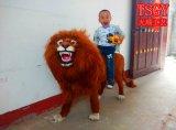 仿真動物,皮毛獅子模型,純手工工藝品擺件