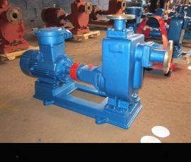 不阻塞排污泵100ZW100-30排污水专用卧式污水泵自吸污水泵 四川生产厂家
