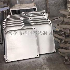 耀恒 供应不锈钢304防盗井盖 下沉式隐形井盖