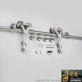 移门滑轮商场商铺玻璃移门滑轮01A-C双滑轮耐磨顺畅不锈钢移门滑轮吊轮