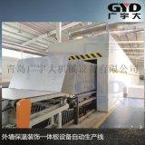 青岛广宇大供应外墙保温装饰一体板设备,自动喷漆机