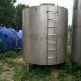 出售二手5吨不锈钢立式卧式储罐