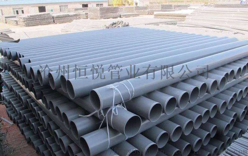 2019年PVC给水管报价 河北PVC管厂家直销