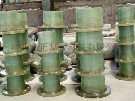 玻璃钢夹沙管排污水玻璃钢管道