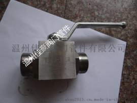 精品YJZQ-J6/10/15/20/25W/N不锈钢液压高压球阀
