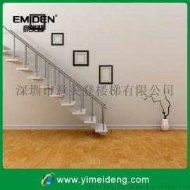 供应室内复式楼直梁楼梯,家用楼梯YMD-0928