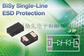 3.3V 1PF低漏电保护二极管阵列PSM712 PDLC05 PLC03-3.3 PRSB6. 8C