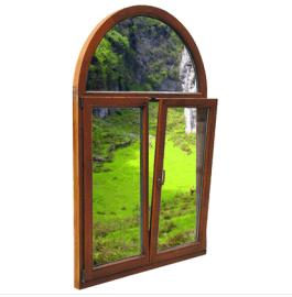 铝木复合门窗实木门窗断桥铝型材门窗