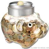 2017爆款智能猪罐子钱罐 电子存钱罐 计币器 电子识币储钱罐储蓄罐 扑满
