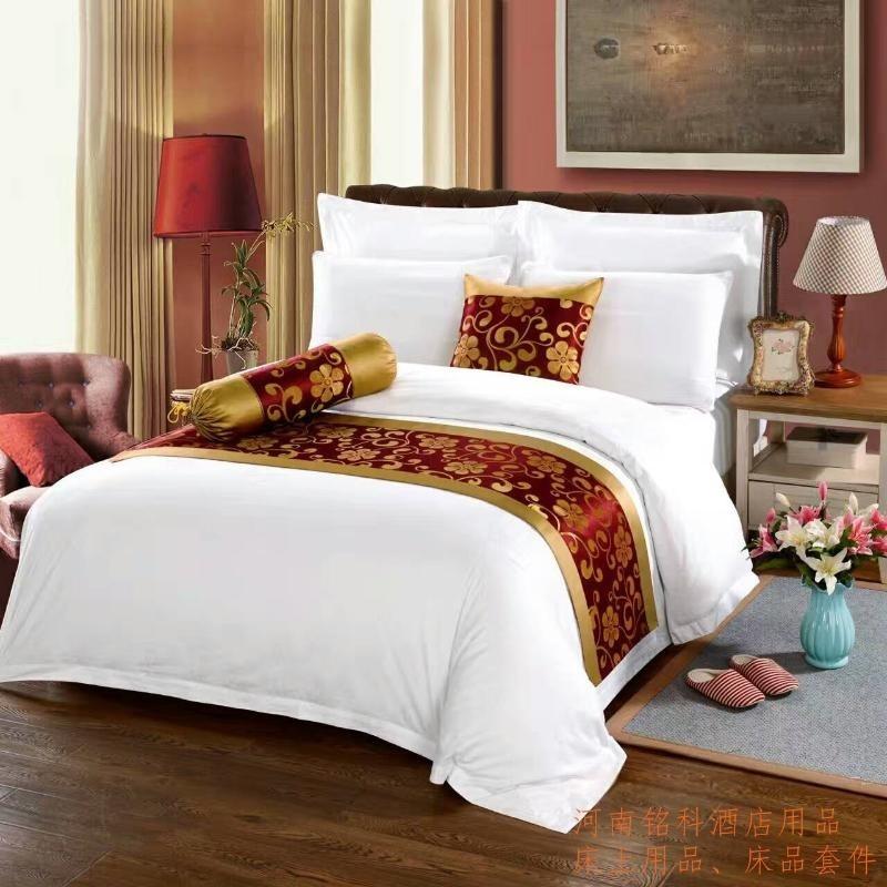 河南酒店布草賓館客房布草,溫泉洗浴布草牀上用品、毛巾浴巾沙發巾