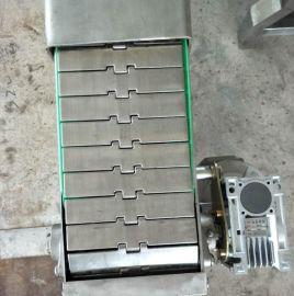 瑞源不锈钢平顶链 转弯链板机 尼龙柔性链板