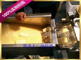 鸡排裹雪花片机 鸡排上粉机 正新鸡排裹糠机