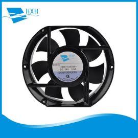 供应高品质17251变频器用风扇工业冷柜用排风扇172*150*51MM