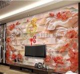 彩艺UV万能打印机  5D瓷砖背景墙打印机