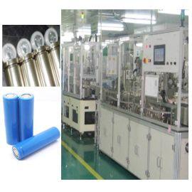 圆柱锂电池生产线设备 效率80-150支每分钟