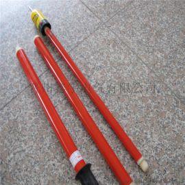 接线高压接触式伸缩验电器10kv测电器验电笔电工高低压验电器