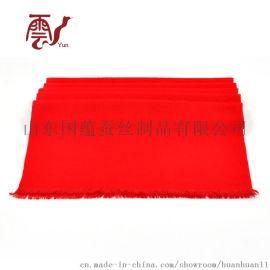 红围巾定做--年会围巾--丝巾加盟厂家