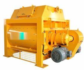 郑州大型混凝土搅拌设备厂家报价,亿立建机JS3000混凝土搅拌机,双臥轴强制式