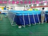 河北保定大型室外水上乐园 支架水池游泳池厂家