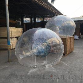 亚克力圣诞球,透明空心大肚子球,圣诞大球罩