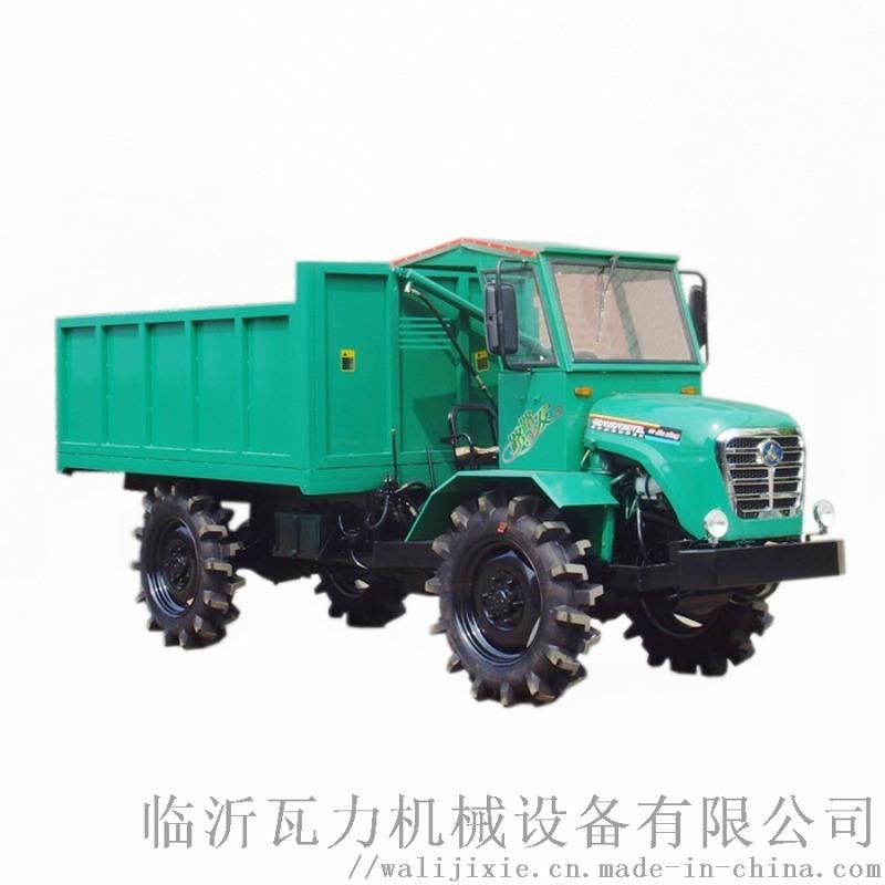 農用四驅柴油甘蔗運輸拖拉機