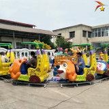 公园小成本儿童游乐设备欢乐锤轨道小火车