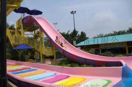 水上乐园设备水滑梯小冲天回旋滑梯