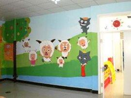佳木斯墙体手绘幼儿园墙画