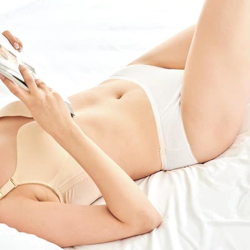 一次性内裤无纺布内裤水刺布纯棉柔软珍珠纹内裤孕产妇内裤