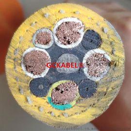 电动铲运机电缆4X35+1X16