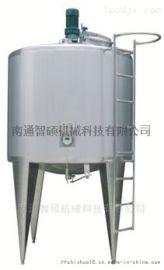 双层立式搅拌储罐 不锈钢罐 饮料设备