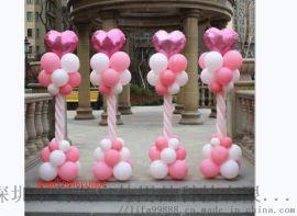 深圳气球拱门安装图片