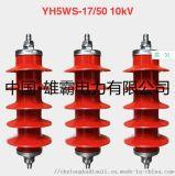 HY5WS-17/50 10KV氧化锌避雷器