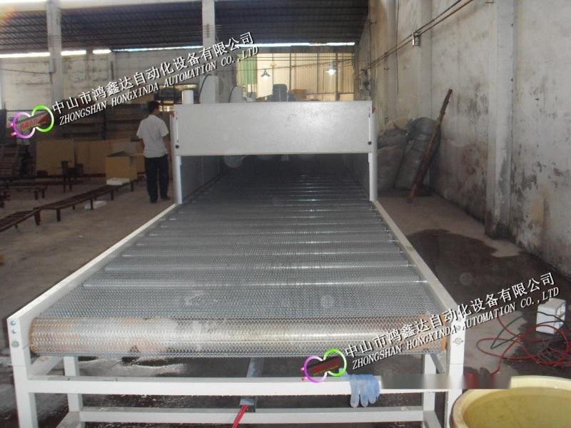 佛山玻璃茶壶输送烘干烤炉流水线生产线设备