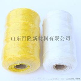 PE聚乙烯线,聚丙烯复丝线,尼龙复丝线。