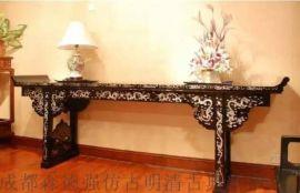 四川成都实木大班台,红木家具配套,传统新中式家具