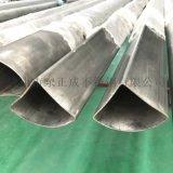 徐州不锈钢异形管,304不锈钢扇型管