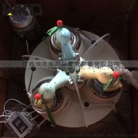 小型实验室研磨机 玛瑙料钵研磨机 120*3研磨机
