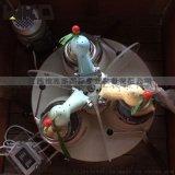 小型實驗室研磨機 瑪瑙料鉢研磨機 120*3研磨機