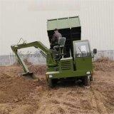 供應多功能液壓吊挖一體機 白事專用挖吊運輸車