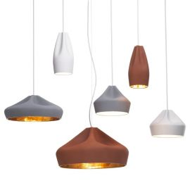 陶瓷褶皺吊燈The Pleat Box 餐廳吊燈衣帽間吊燈客廳臥室吊燈