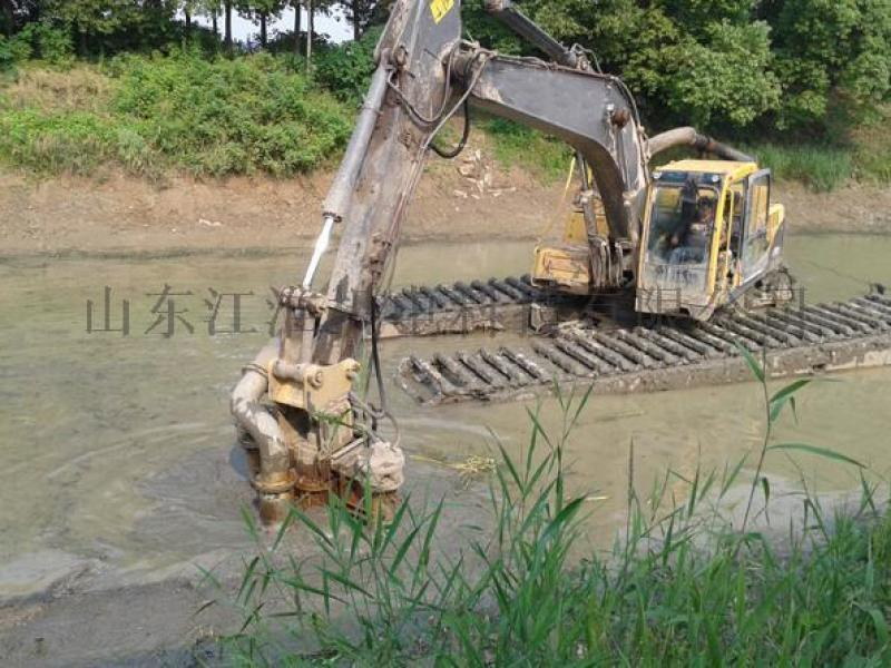 什么泵能清理河道里的淤泥  江淮液压河道清淤泵