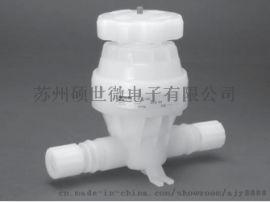 美国PARKER MV-12 手动隔膜阀 2 通阀