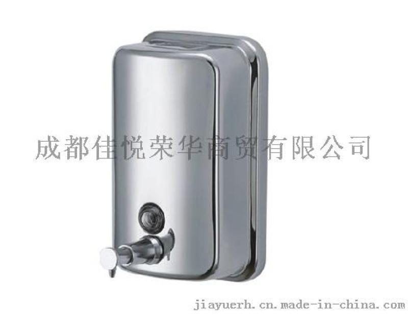 304不锈钢皂液器、洗手液瓶壁挂式厂家批发